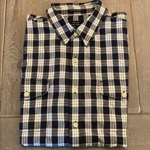 Black Label Shirt Sleeve Button Up
